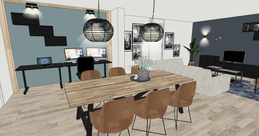 Interieurontwerp woonkamer Utrecht