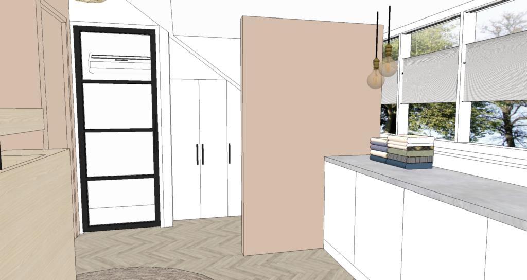 Interieurontwerp Masterbedroom Zolderverdieping